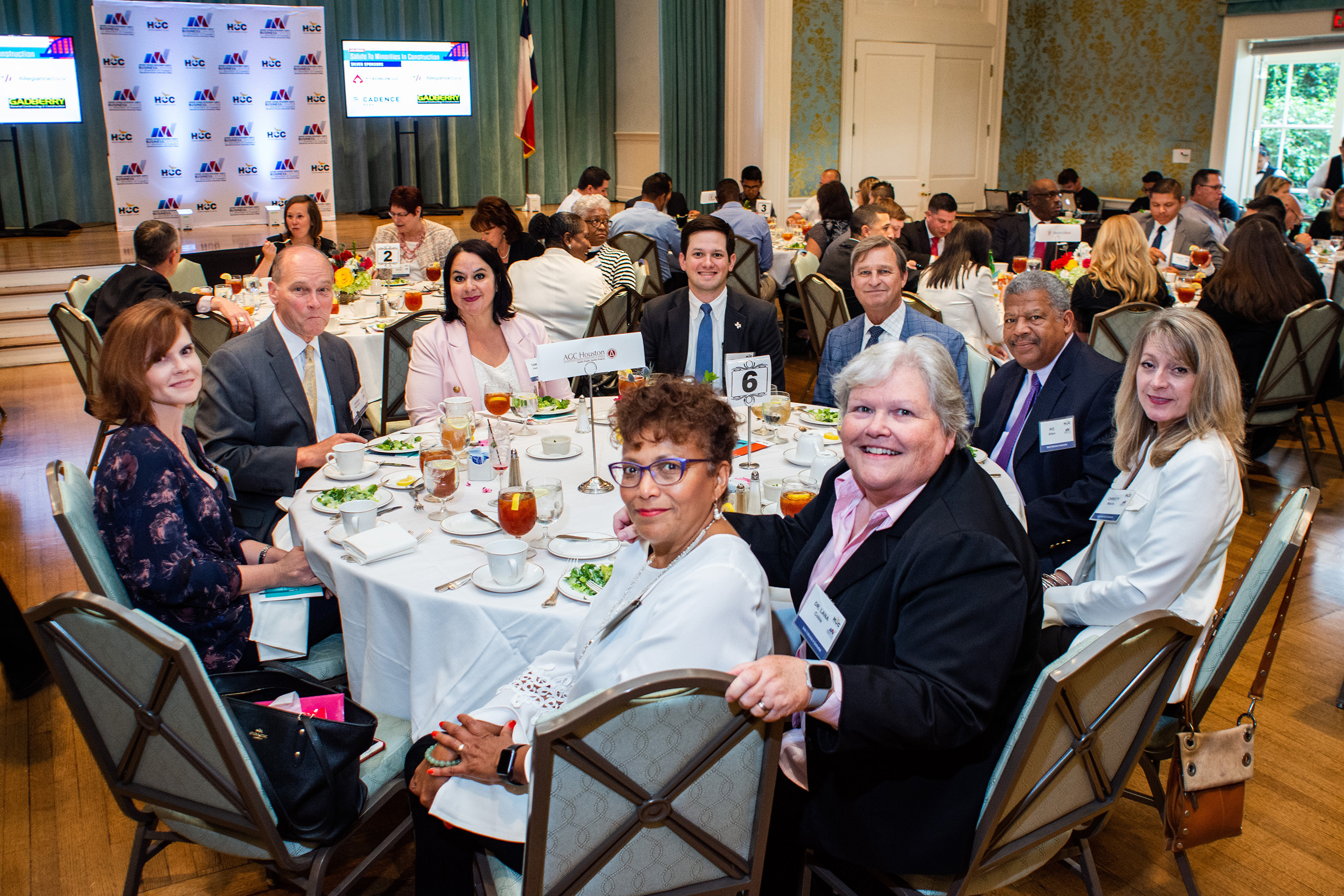 Diversity Committee at MBDA's Salute to Minorities in Construction Luncheon